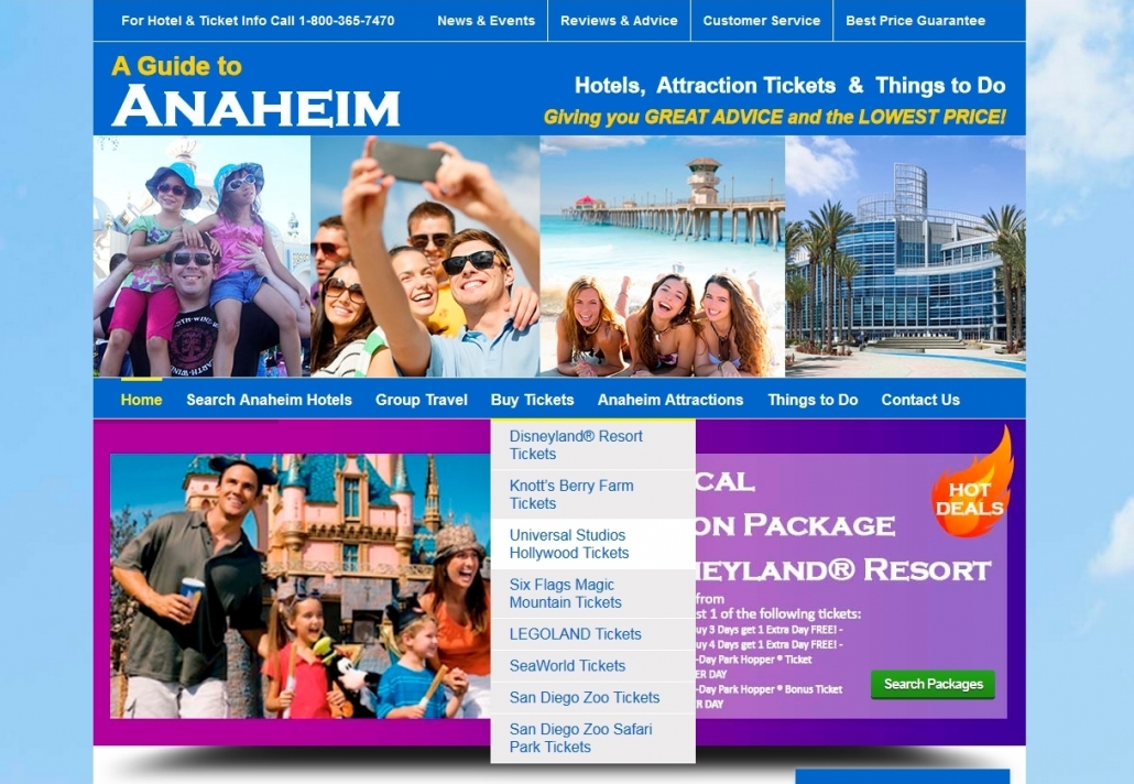AGuidetoAnaheim - Buying Universal Studios Hollywood Tickets Online